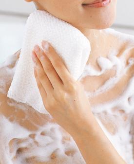 体の洗い方