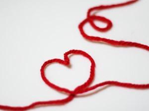 ハートの糸